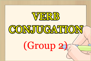 Verb Conjugation Group 2 in Japanese