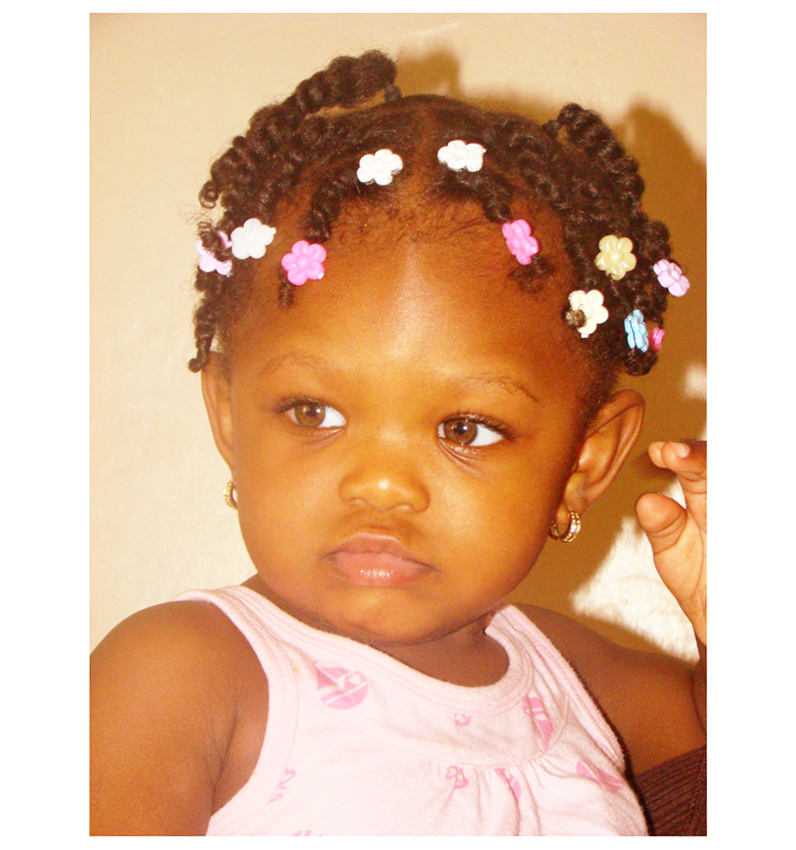 Baby Girl Hairstyles Black Photo