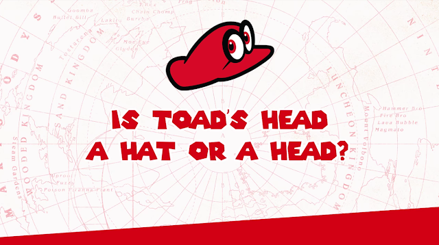 Super Mario Odyssey Yoshiaki Koizumi Toad's hat or head Toad