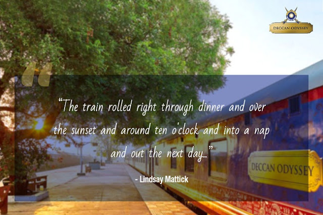luxury train travel quotes