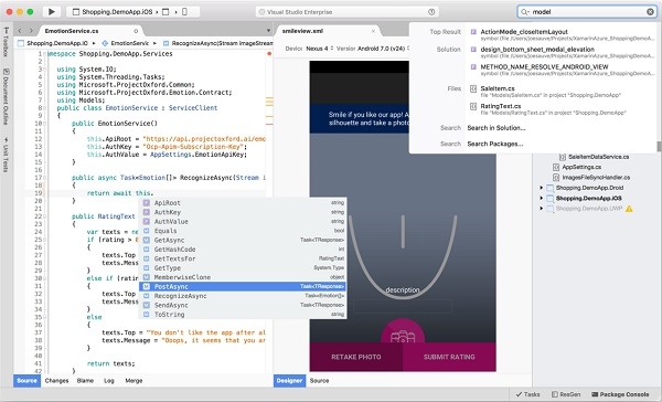 Microsoft launches Visual Studio for Mac Preview