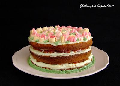 naked cake, tarta desnuda