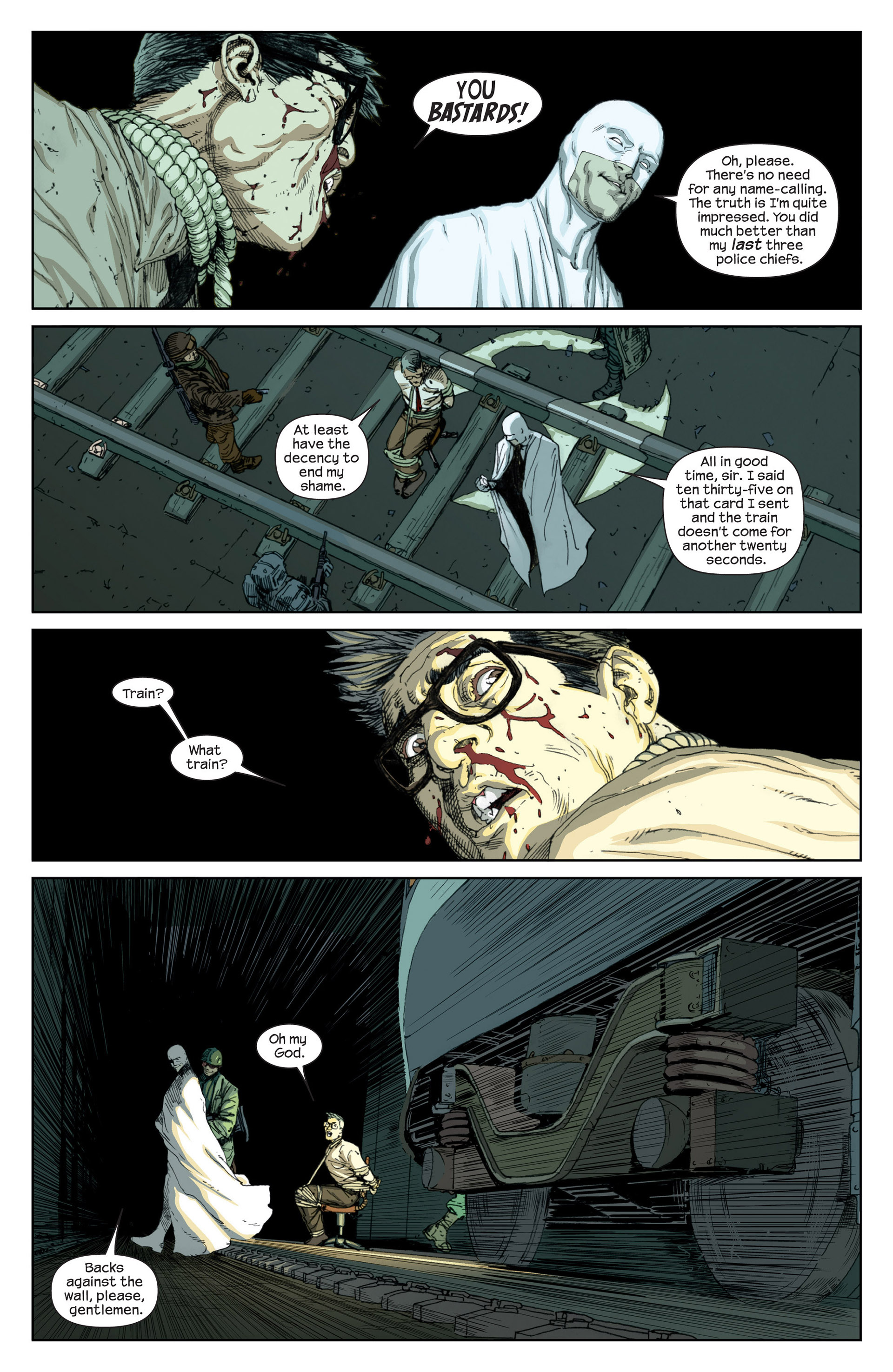 Read online Millar & McNiven's Nemesis comic -  Issue #1 - 8