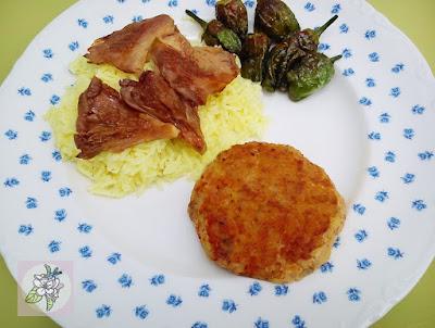 Hamburguesas veganas de lentejas rojas o coral, avena y setas.