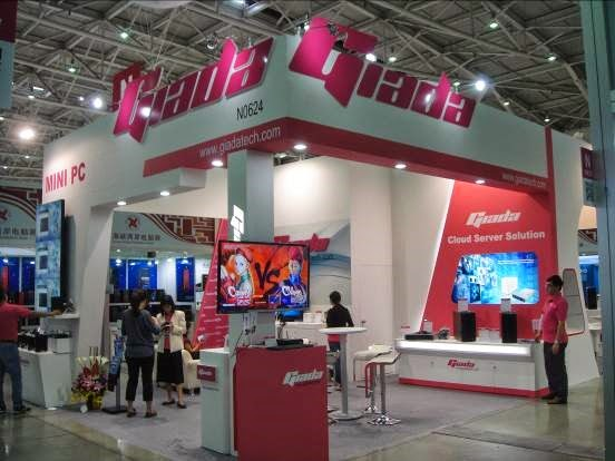 Giada's Booth at Computex 2014