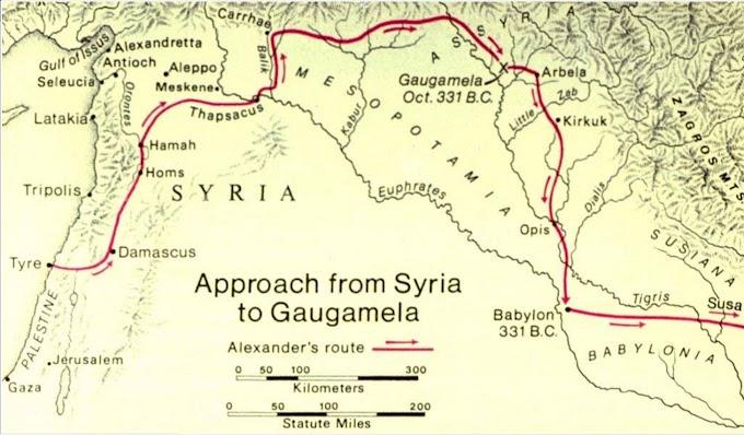 Όμως...Πριν ενάμισι χρόνο η πόλη του Μ Αλέξανδρου στο Ιράκ  είχε αποκαλυφθεί από τον Έλληνα καθ Δ.Δενδρινό