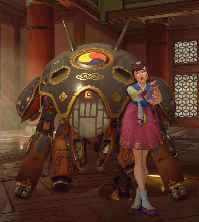 The Games Of Chance Wooo Overwatchs Year Of The Rooster