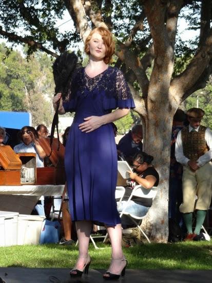 30s dress fashion show