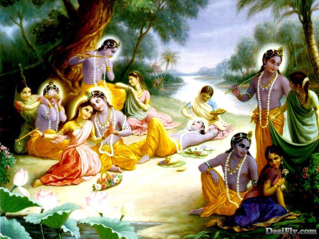 Wallpaper: Radha Krishna Wallpaper