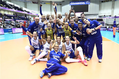 Rexona é finalista do Mundial de Clubes de vôlei