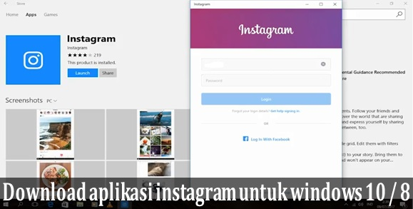 Download aplikasi instagram untuk windows  Download aplikasi instagram untuk windows 10 PC