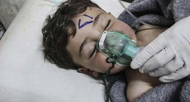 UNICEF condena uso de armas químicas en Siria