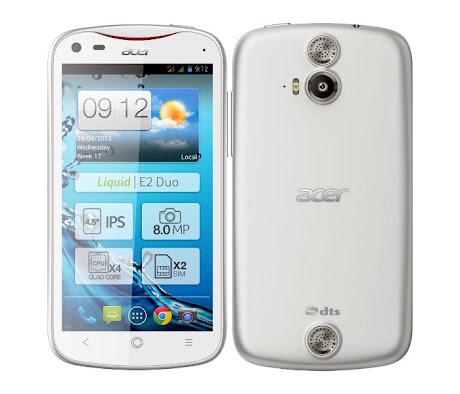 Acer Liquid E2 Putih