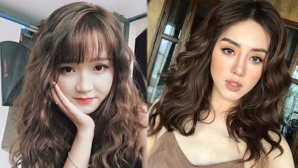 Kiểu tóc uốn xoăn mới sang chảnh và đáng yêu đầu xuân 2018 nhé các cô gái
