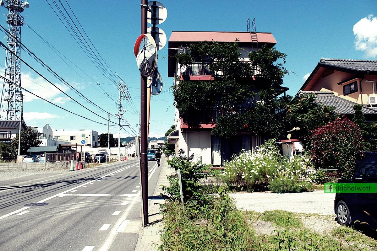 บรรยากาศท้องถนนใน อ.มัทซึโมโต้ (Matsumoto)