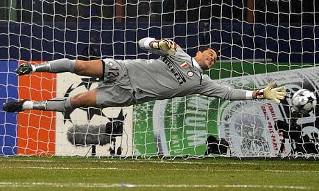 World Sports Picture: Soccer Goalkeeper
