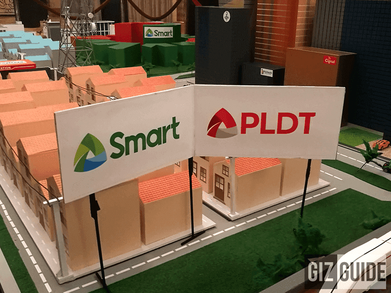 PLDT and Smart are still operational in areas near Mt. Mayon