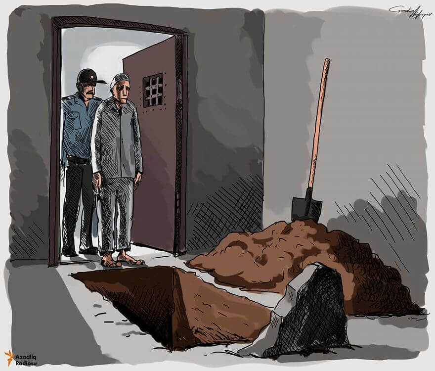 13 Powerful Illustrations Reveal Everything That Is Wrong With The World Today - Policitial Prisoners