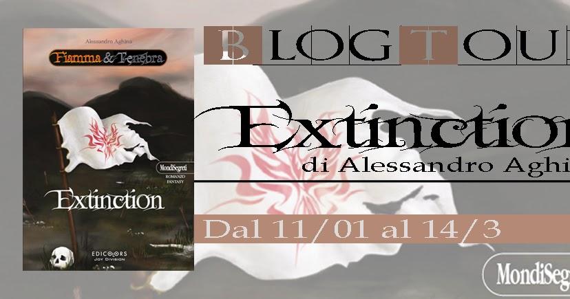 Libri al caffe blogtour extinction di alessandro aghina - La nona porta libro ...