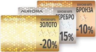 AURORA bonus cards (Бонусные карты компании Аврора.jpg