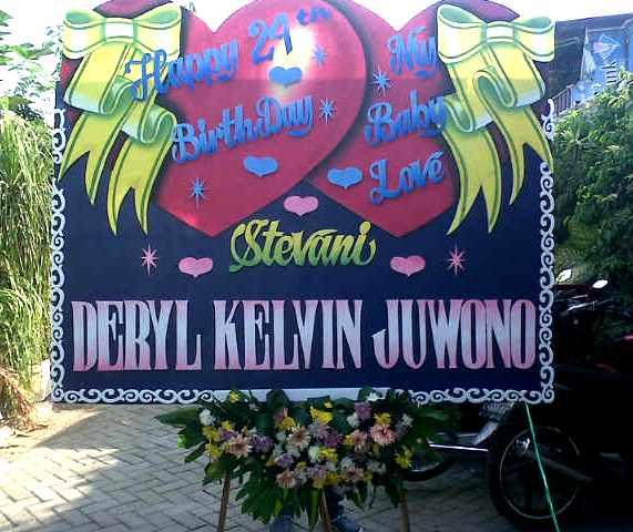 bunga-papan-pernikahan-murah-surabaya