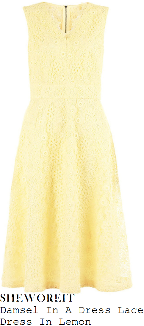 lorraine-kelly-damsel-in-a-dress-lemon-yellow-floral-lace-sleeveless-v-neck-high-waisted-full-skirted-a-line-dress