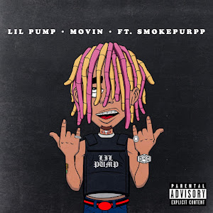 Lil Pump - Movin' (feat. Smokepurpp) - Single Cover