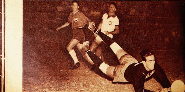 Brasil y Chile en Campeonato Sudamericano de 1953