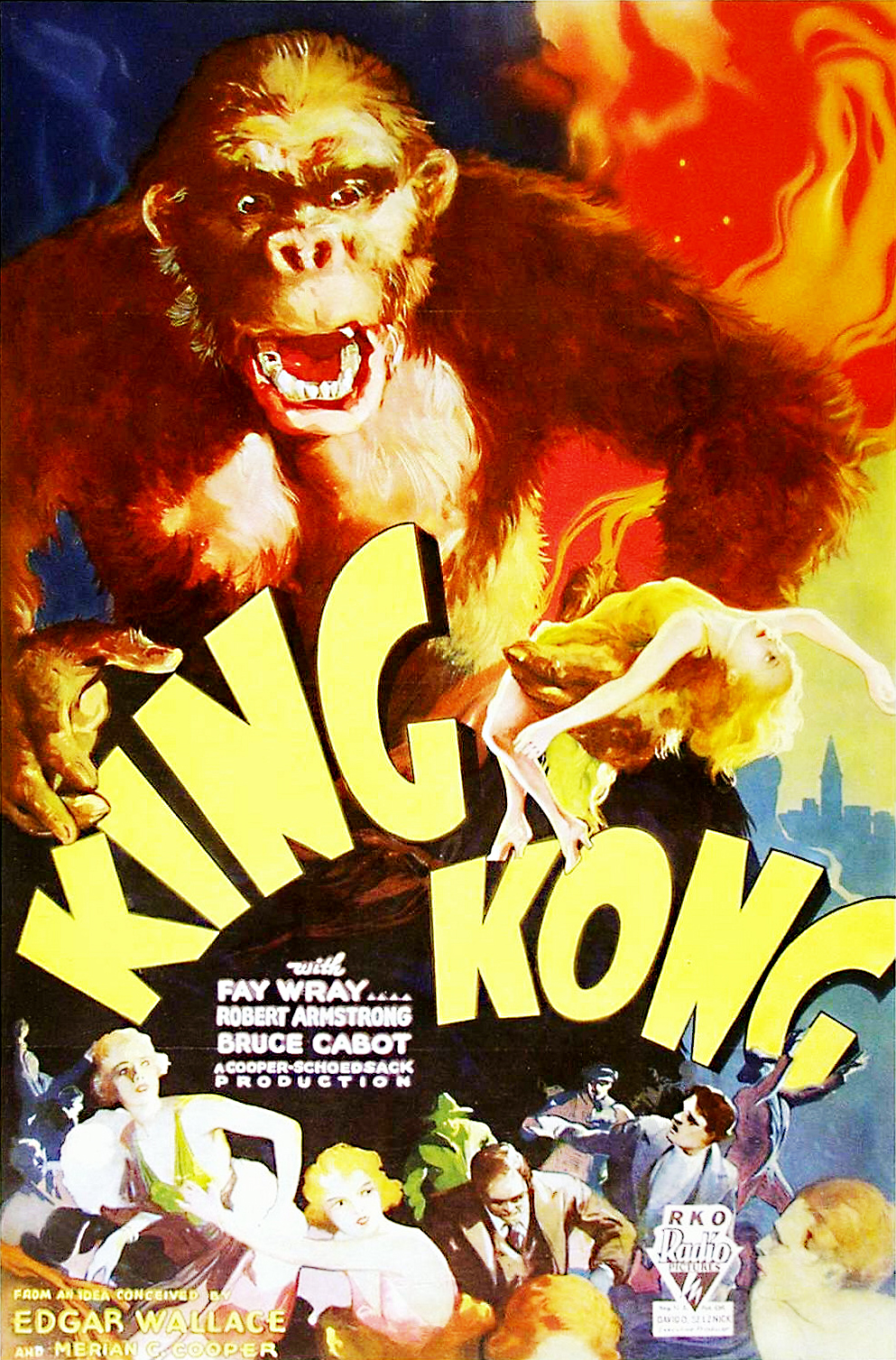 The Geeky Nerfherder Movie Poster Art King Kong 1933 Short Circuit Posters From Shop