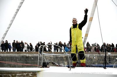Deuxième Vendée Globe bouclé pour Rich Wilson à 66 ans !