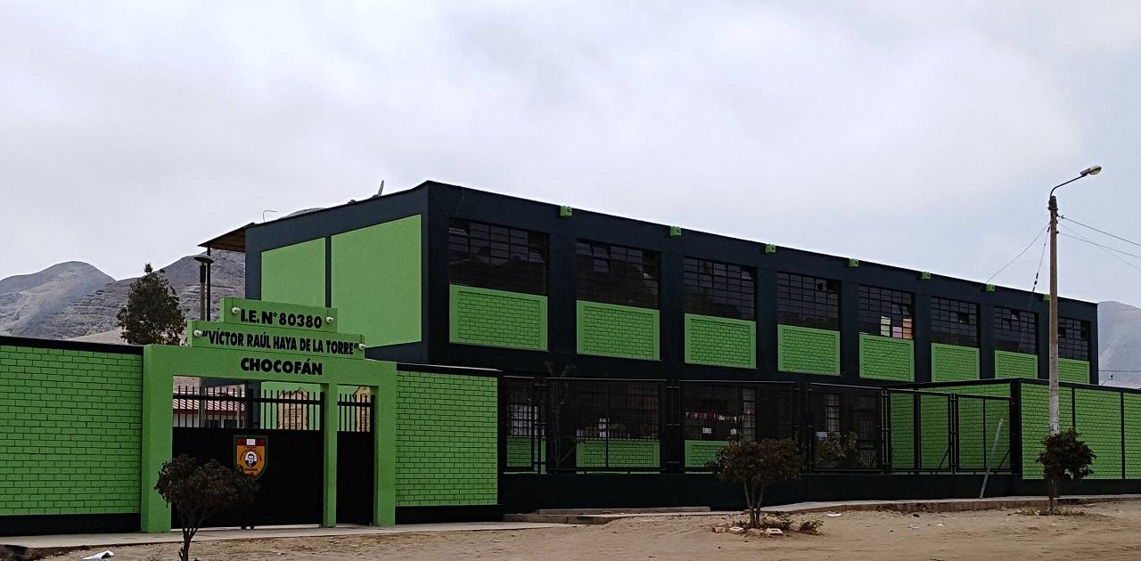 Escuela 80380 VICTOR RAUL HAYA DE LA TORRE - Chocofan