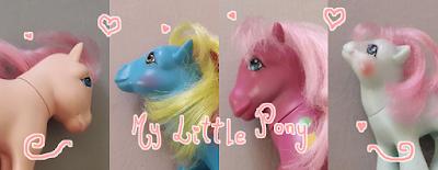 coleção de My Little Pony