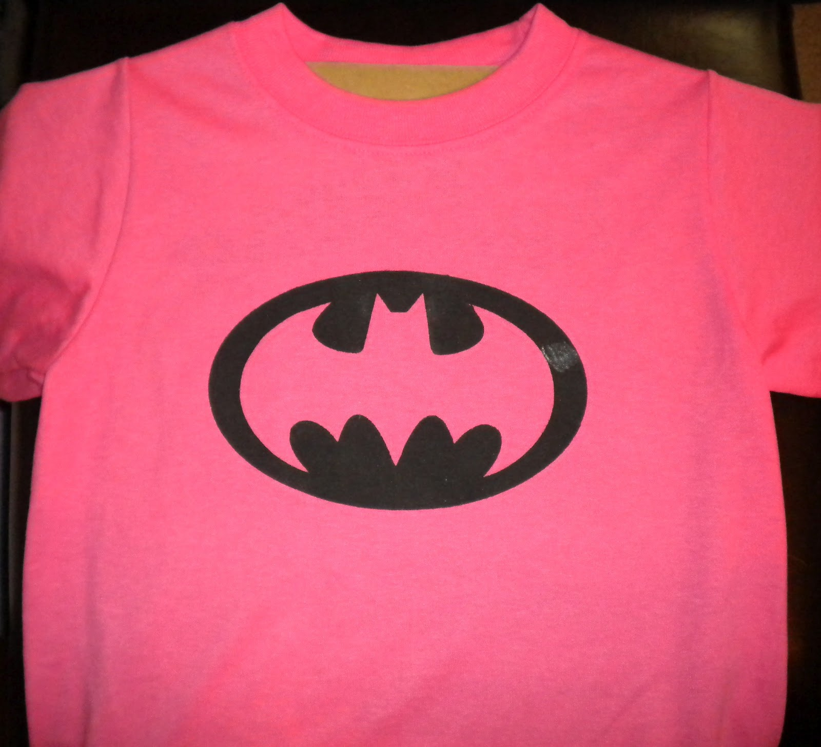Jean S Crafty Corner Batgirl Shirt