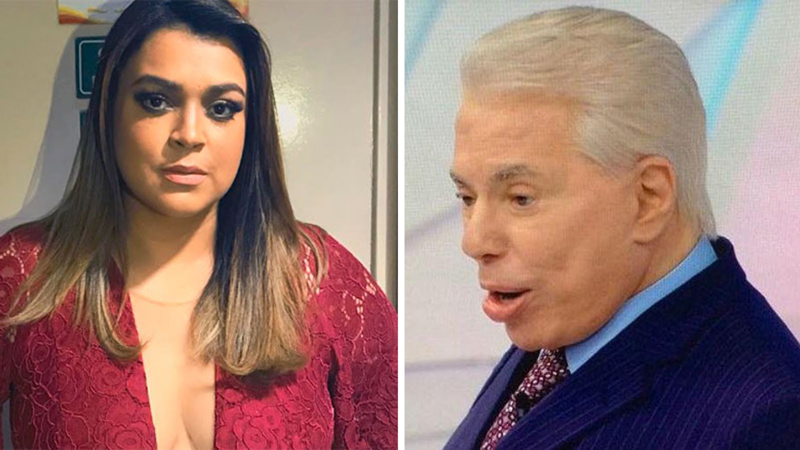 fb41c48485a9a Portal Curió  Silvio Santos chama Preta Gil de gorda durante ...