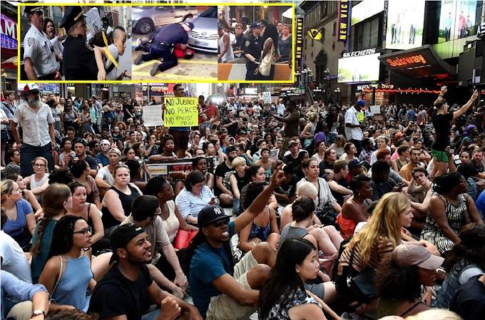 Docenas de manifestantes detenidos en NY en protestas por muertes de afroamericanos en Minnesota y Luisiana