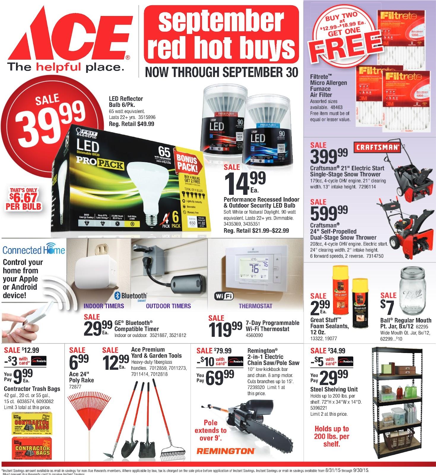 Southern Minnesota Ace Hardware Stores