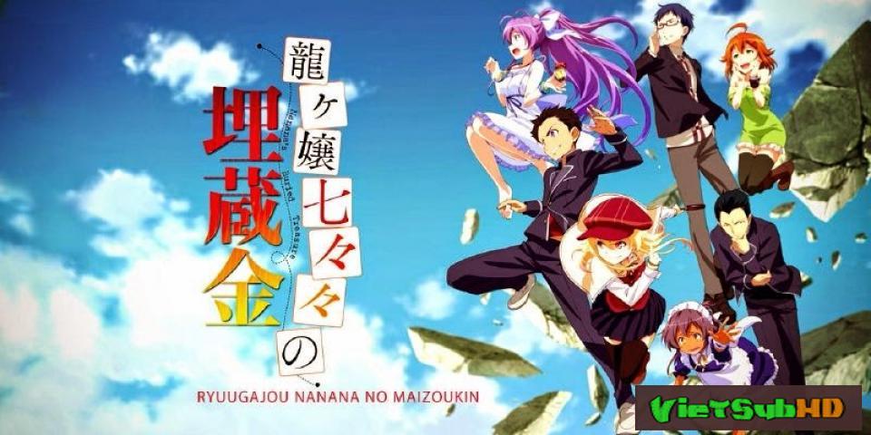 Phim Ryuugajou Nanana No Maizoukin Full 11/11 VietSub HD | Ryuugajou Nanana No Maizoukin 2014