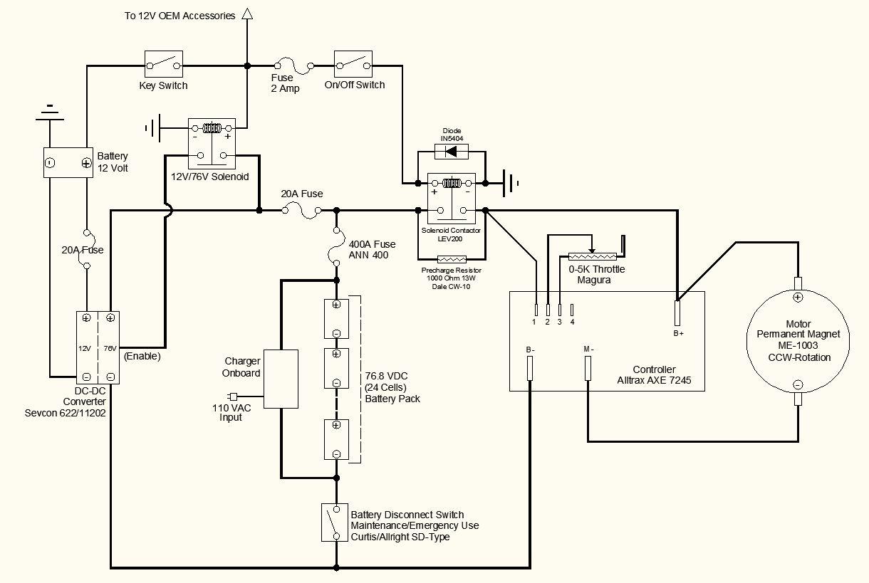 E Bike Switch Schematic