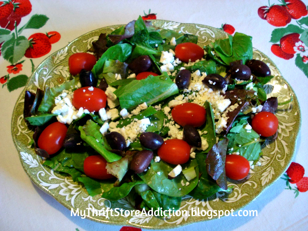 Secret Garden Herb Greek Salad