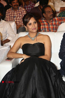 Telugu Anchor Actress Anasuya Bharadwa Stills in Strap Less Black Long Dress at Winner Pre Release Function  0043.jpg