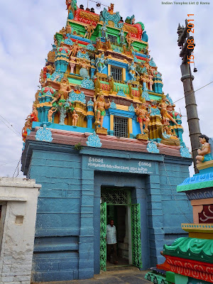 Yerragudipadu temple Dwajastambham