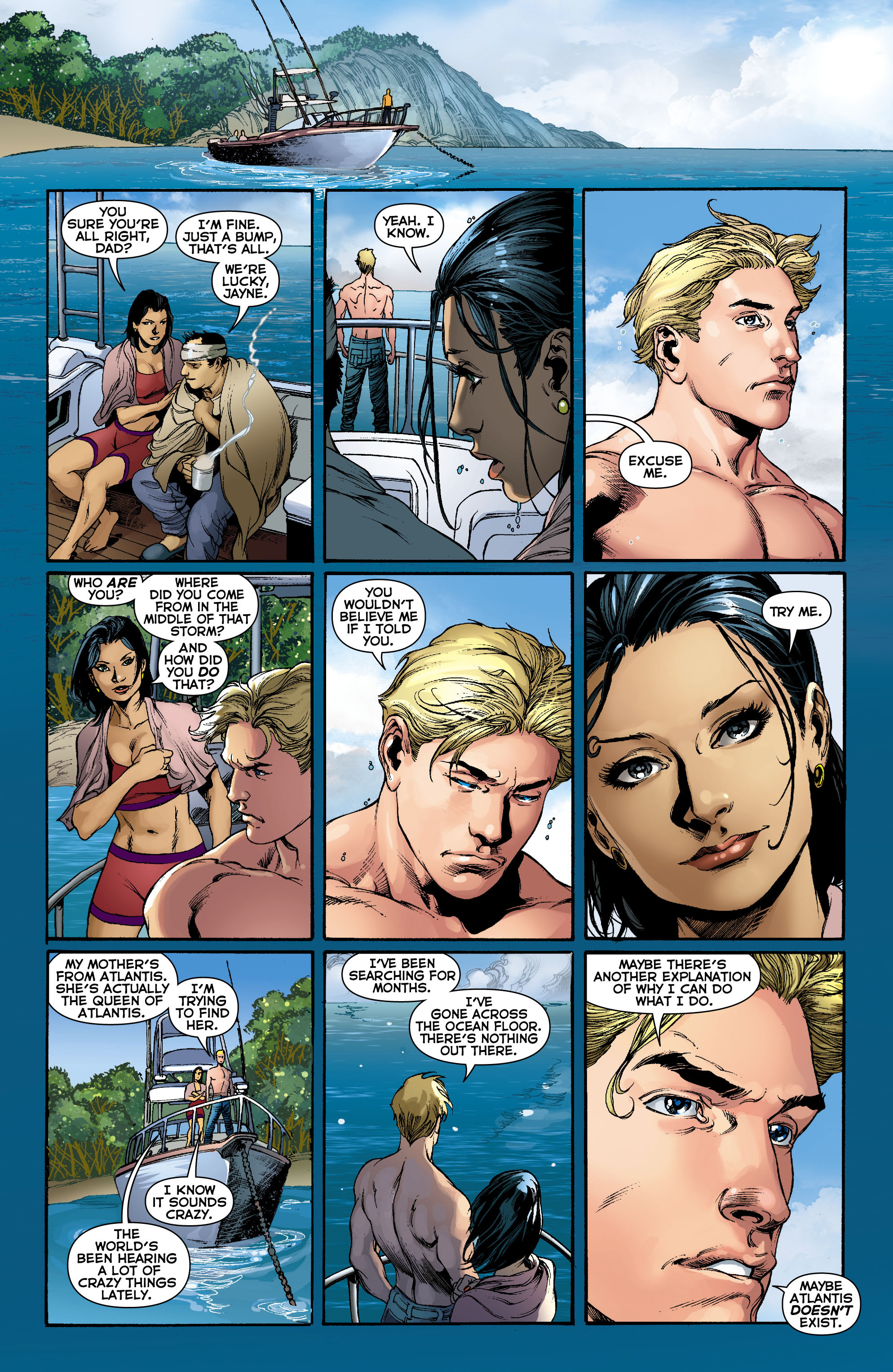 Read online Aquaman (2011) comic -  Issue #0 - 12