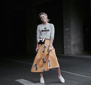 Imágenes Tendencias Moda Mujer Instagram Otoño Invierno Faldas midi largas polleras
