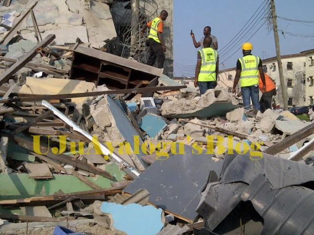 Breaking: Many feared dead as 2-storey building collapses in Ibadan