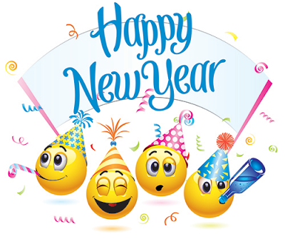 Happy New Year Emoji Images Pictures