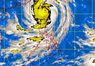 Typhoon Odette intensified - September 21, 2013