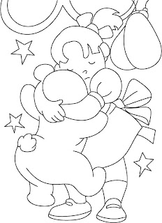 Friendship Cards: Friendship Day Coloring Card