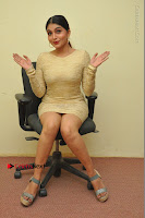 Actress Pooja Roshan Stills in Golden Short Dress at Box Movie Audio Launch  0050.JPG