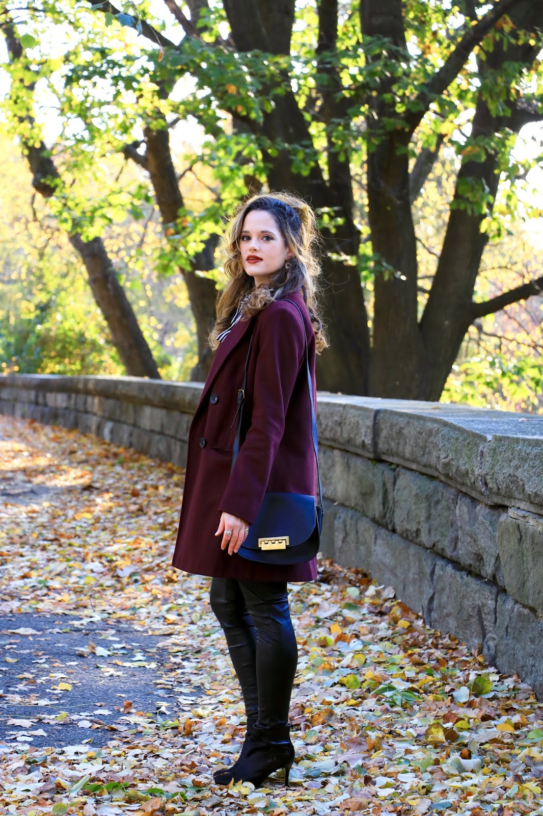 Nyc fashion blogger Kathleen Harper's fall pics