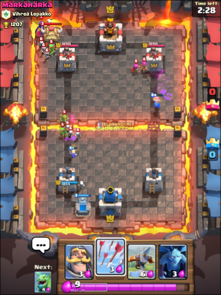 Cards Glitch Clash Royale Witch